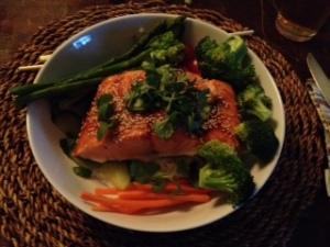 photo Salmon Dinner